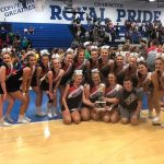 Cheer Competition Team took 1st Place on Saturday at Eastern Hancock High School!
