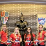 Lady Knights Volleyball Will Honor Seniors At Tonight's Match  Against South Ripley