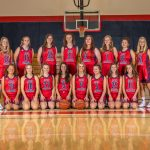 2019-20 Girls Basketball Athletic Awards Recognition