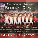 Alumni Spotlight: 2015 Wrestling Knights
