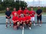 Knights Varsity Tennis Earns 3rd Place Finish at Rushville Invitational on Saturday