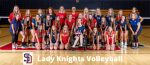 Lady Knights Volleyball Falls to Lawrenceburg