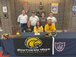 ALEXIS DITTMER SIGNS TO PLAY SOFTBALL WITH THE UNIVERSITY OF SOUTHERN MISSISSIPPI