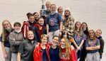 Lady AquaKnights Take 1st in the South Dearborn Swim Invitational on Saturday