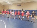 KNIGHTS WRESTLING CAPTURED A VICTORY AGAINST JENNINGS COUNTY LAST NIGHT