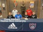 CHASE EMMERT SIGNS TO WRESTLE AT THOMAS MORE UNIVERSITY