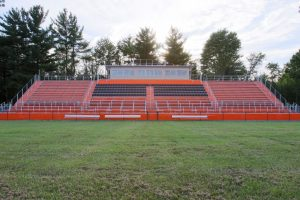 New Football Stadium Bleachers