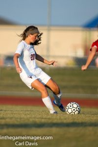 Girls Soccer vs. Lutheran West 8-30-17