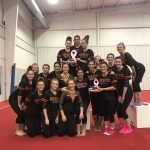 Girls Varsity Gymnastics finishes 1st place at OPEN DATE (Ten Point O Invitational)