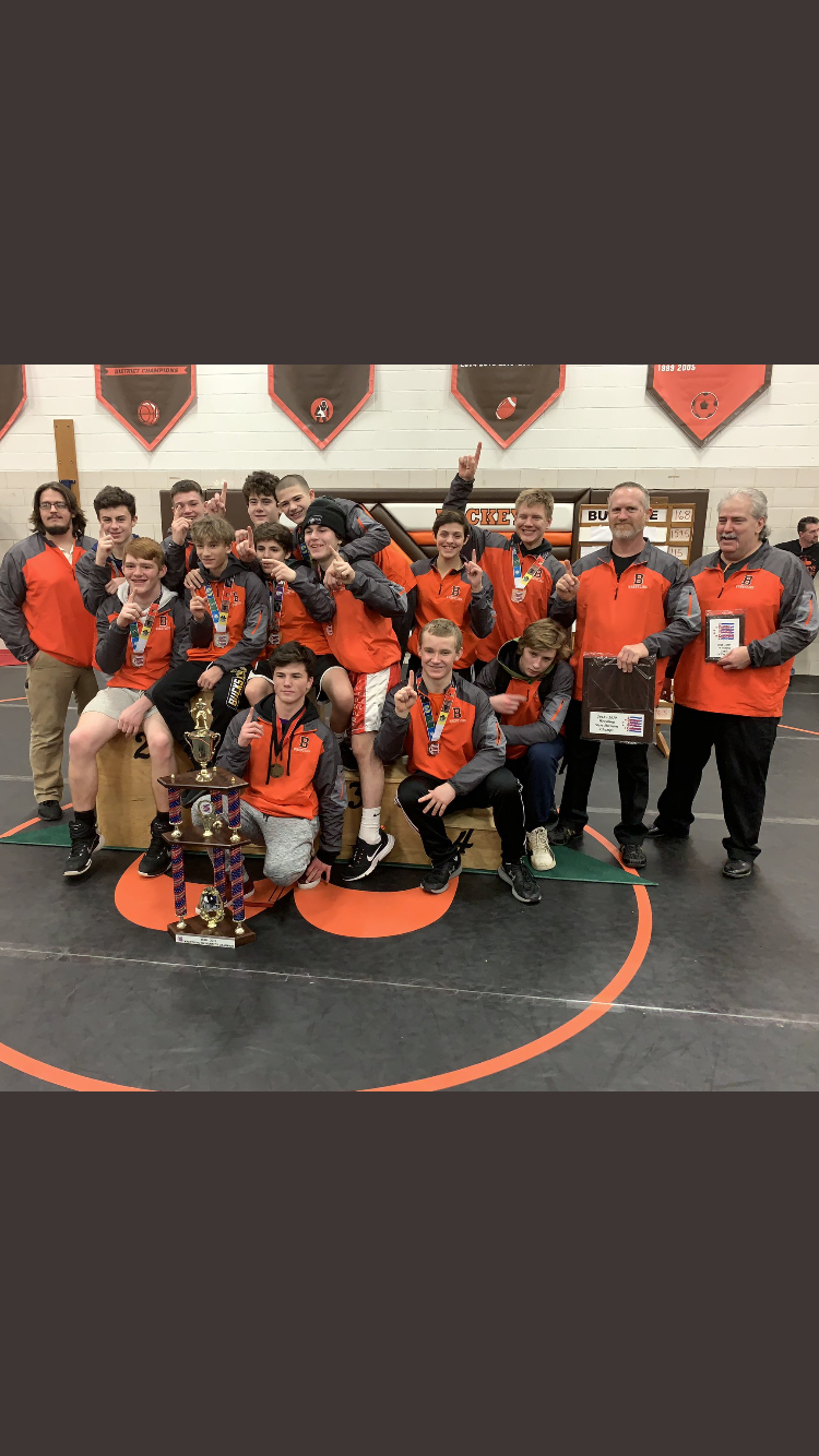 Congratulations to our Wrestling Team!