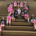 Volleyball Breast Cancer Awareness Game