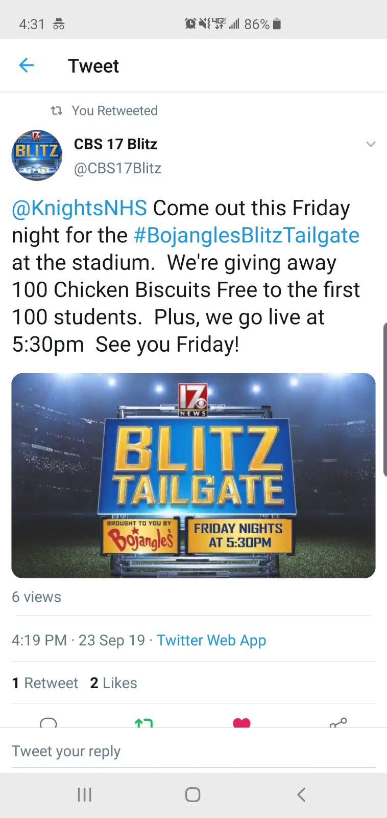 Friday Tailgate
