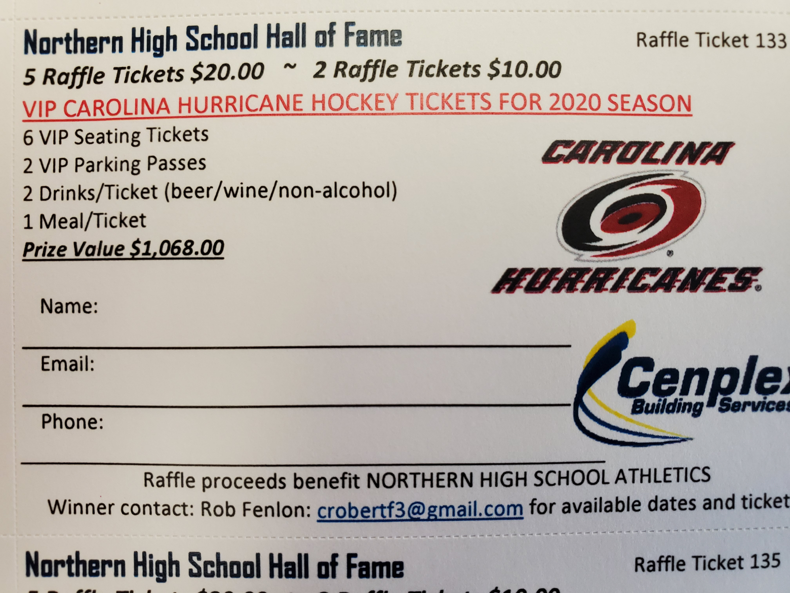 Hurricanes Raffle Is Back!