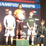 Red wins national title