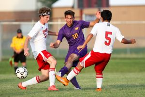 Boys soccer vs. Guerin Catholic 8-18-2015