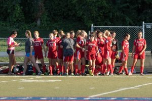 Girls soccer vs Roncalli : 2015-08-24