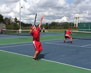 Tennis wins county title