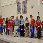 Swimming seniors honor 12 teachers