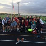 Girls track close 2nd in HHC