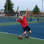 Singles sweep leads tennis to win over G-C