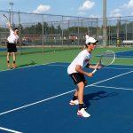 Boys tennis stings Jackets