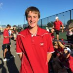 Tennis sweeps Shelbyville, improves to 7-1