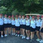 Fox's record 33 leads golf to victory