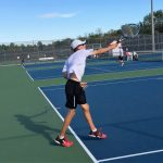 Tennis uses JV to beat Tech