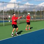 Tennis drops close match to New Castle