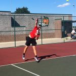 Tennis tames Tigers 3-2