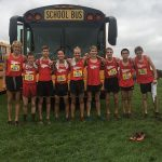 Boys CC 3rd at FlashRock