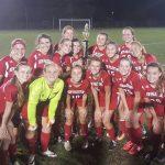 JV girls soccer caps unbeaten season with title