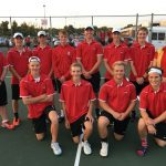 Tennis competes at regional