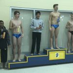 Stacey third, Shriver eighth in HHC diving