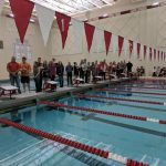 Swimmers sweep Senior Night