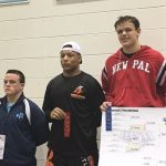 White, Burton win wrestling regional titles