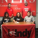 Cain signs with UIndy