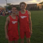 Voelz, Eagleson smash track records