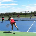 Tennis goes 1-2 at Franklin