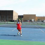 Tennis drops HHC match