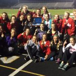 Girls track wins HHC title