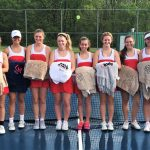 Tennis team honors seniors