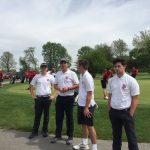 Golf wins on Senior Day