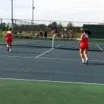 Tennis falls in sectional opener
