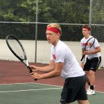Tennis sweeps Tech