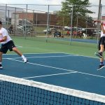 Tennis tames Tigers 5-0