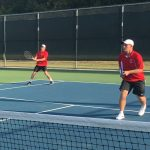 Tennis closes regular season with sweep