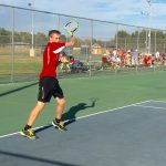 Tennis wins sectional opener