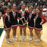 Cheer group third in state
