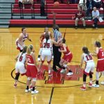 Girls hoops opens with victory